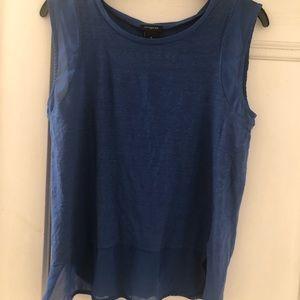 Ann Taylor blue blouse